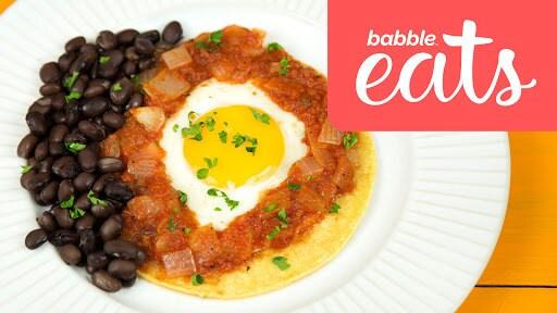 Huevos Rancheros   Babble Eats Around The World