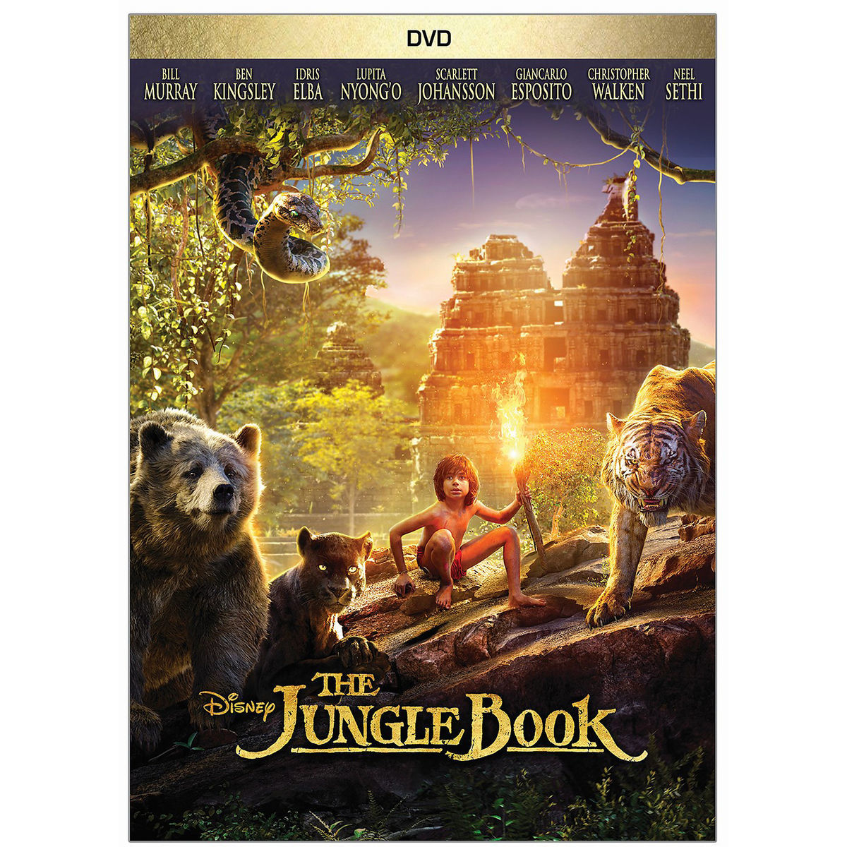 The Jungle Book DVD - Live Action | shopDisney