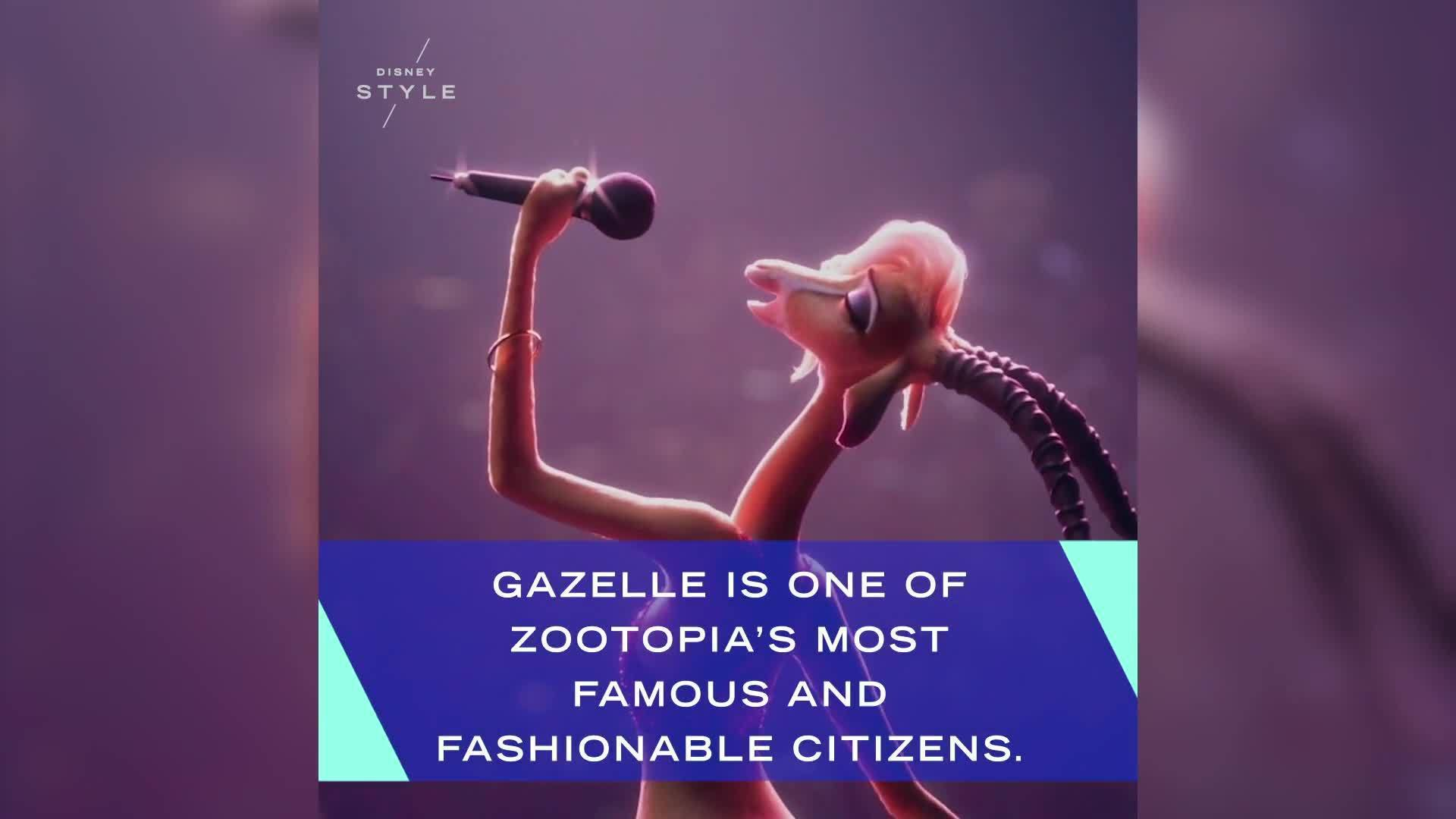 Gazelle's Costume Evolution