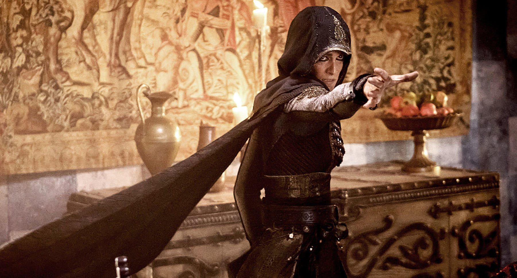 "Marion Cotillard (as Sofia) in the movie ""Assassin's Creed"""