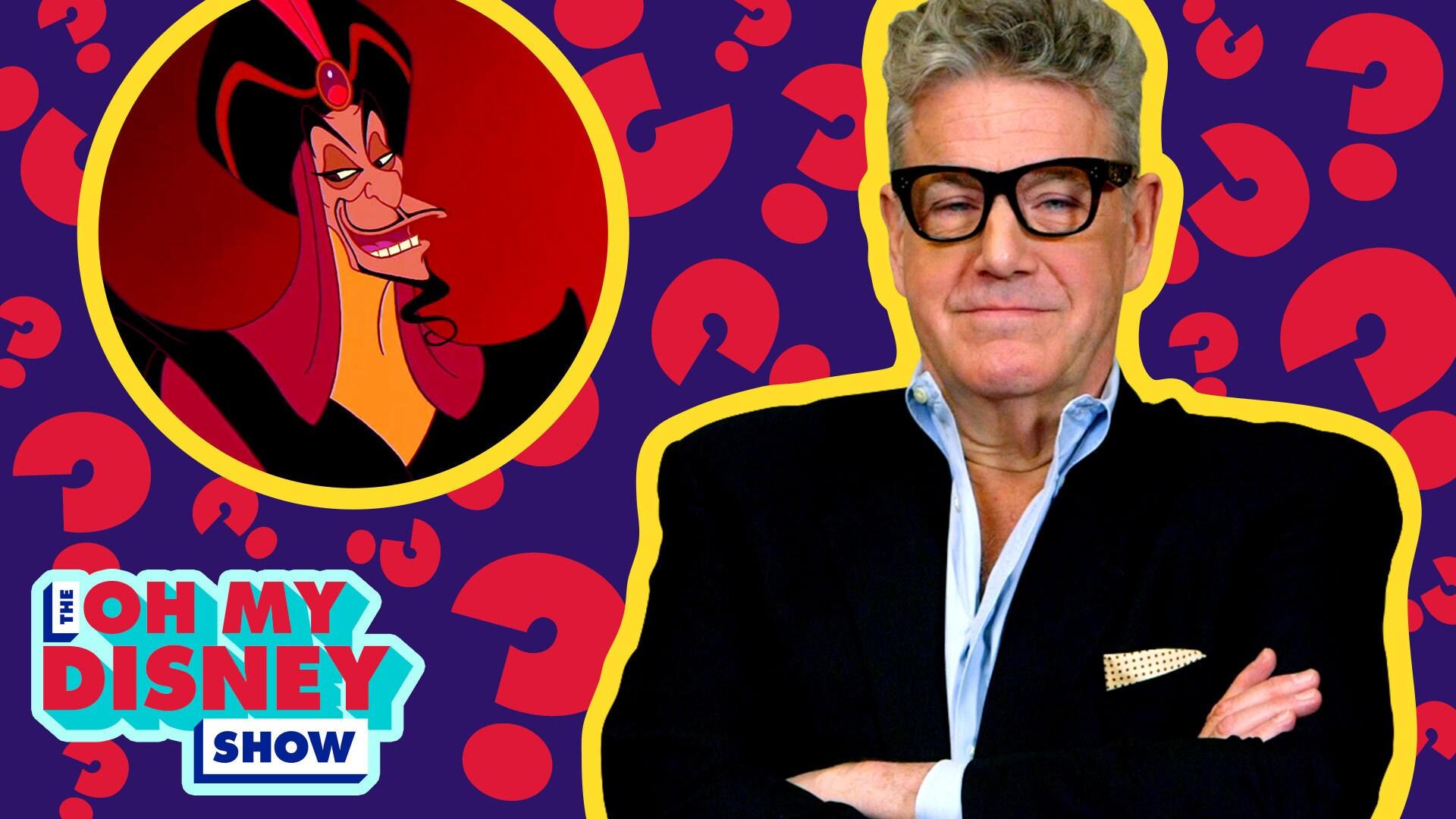 Jonathan Freeman Takes an Oh My Disney Quiz   Oh My Disney Show