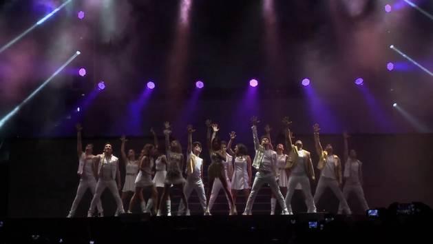 El día del show - Violetta en vivo: gira despedida