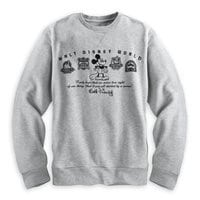Mickey Mouse Four Parks Sweatshirt for Men - Walt Disney World