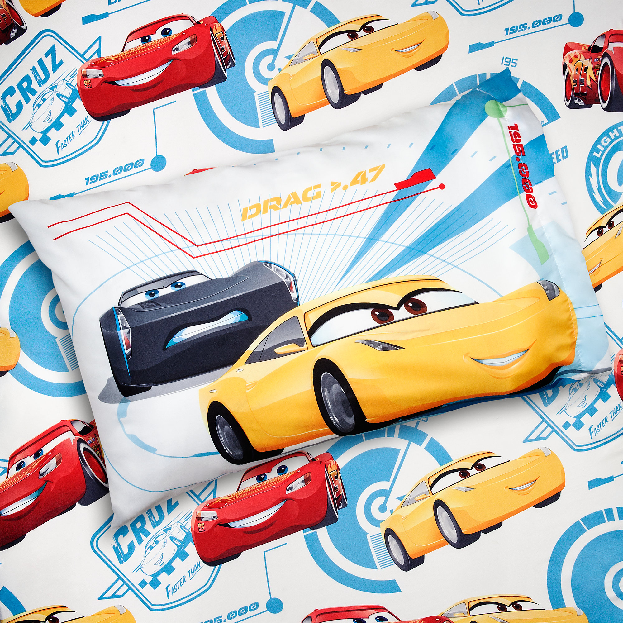 Cars 3 Sheet Set - Twin