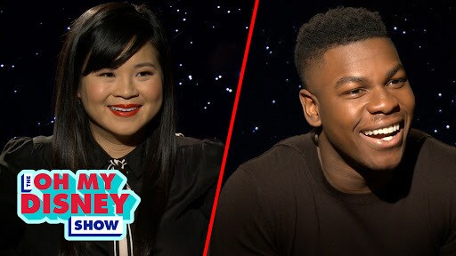 John Boyega and Kelly Marie Tran Build a Droid to Find Out Which Star Wars Character They Are | Oh My Disney Show