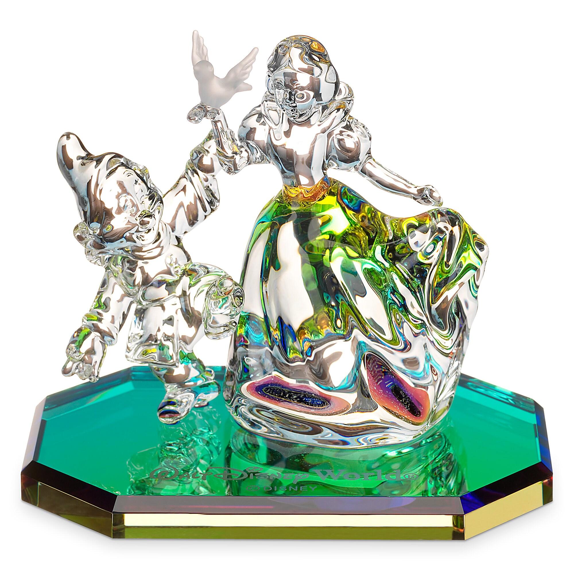 Snow White and Dopey Figurine by Arribas - Walt Disney World
