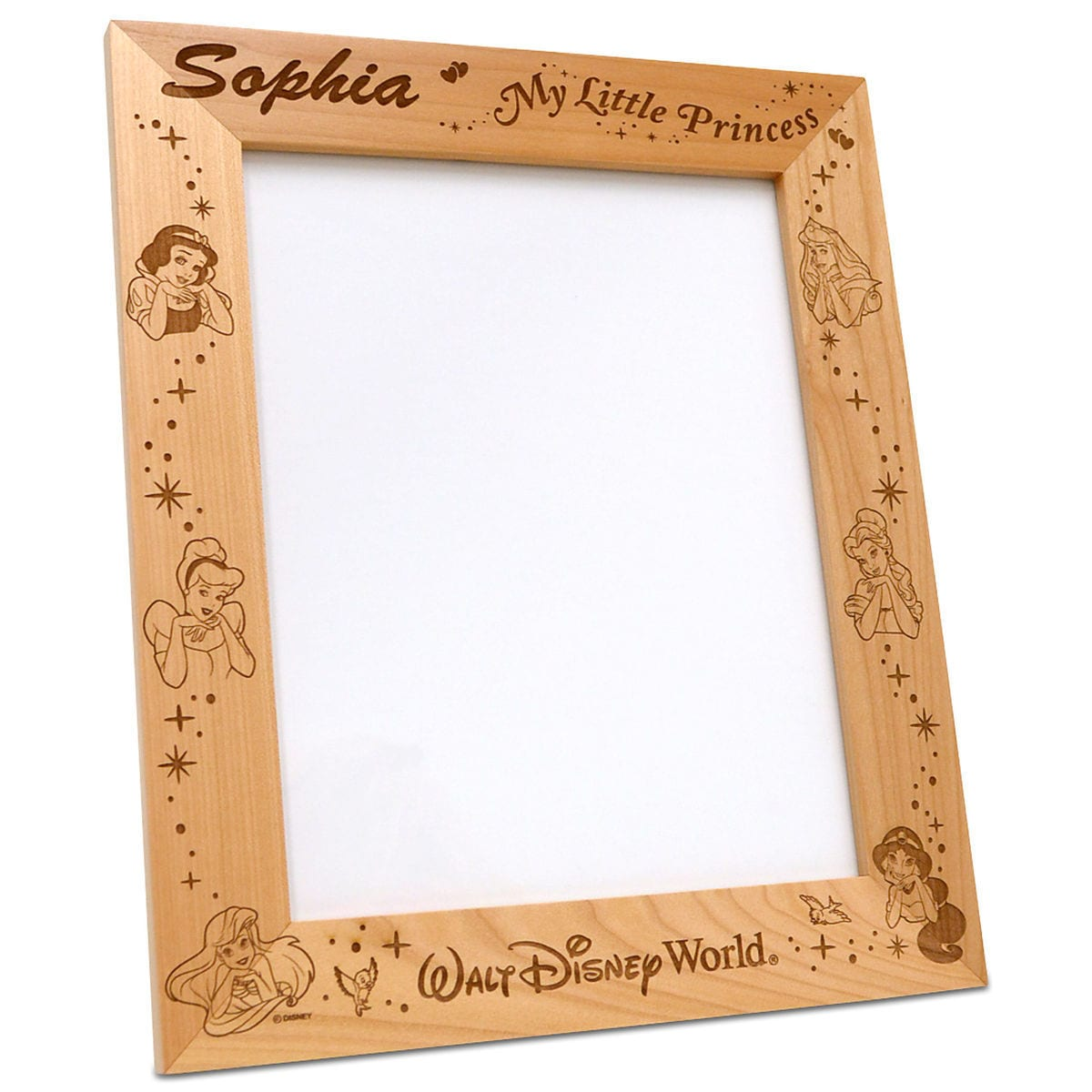Disney Princess 8\'\' x 10\'\' Frame by Arribas - Personalizable ...