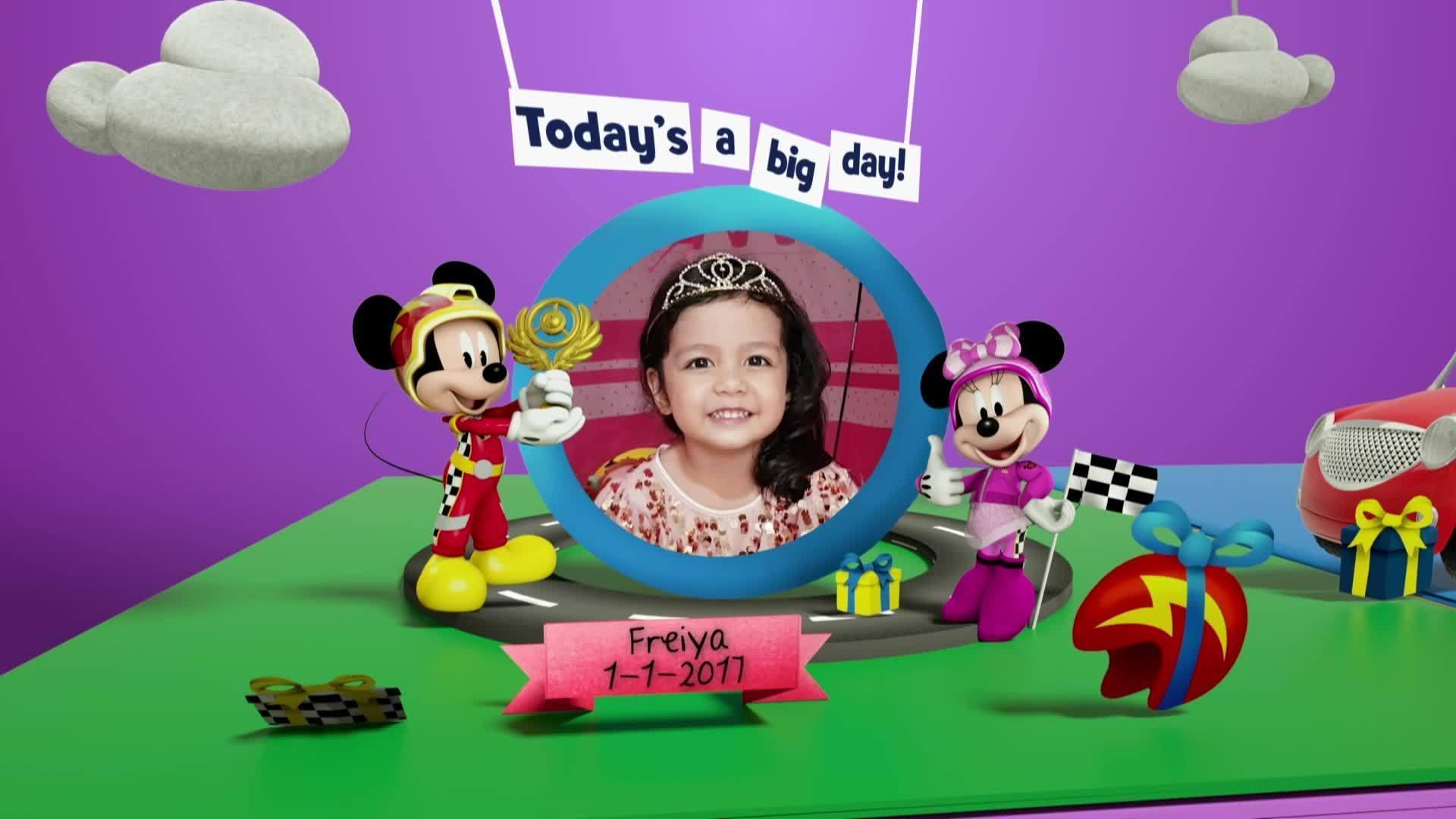 Disney Junior Birthday Book 2021 January Album 2