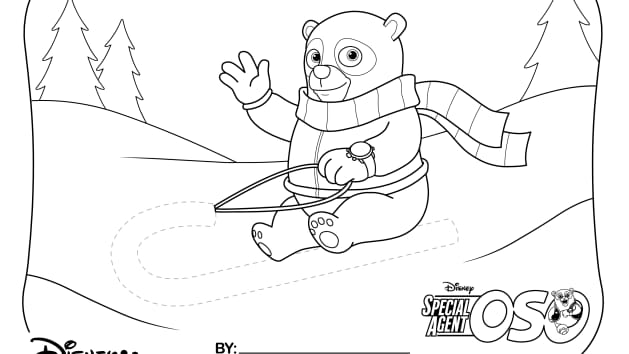 Disney Junior Special Agent Oso Coloring Pages