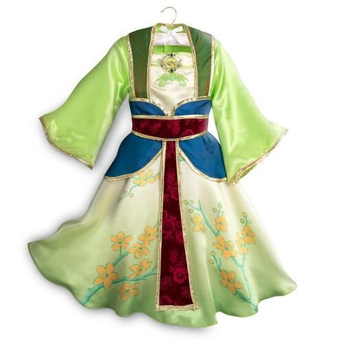 Halloween Child Costume Princess Dressup Set Disney: Mulan Costume For Kids