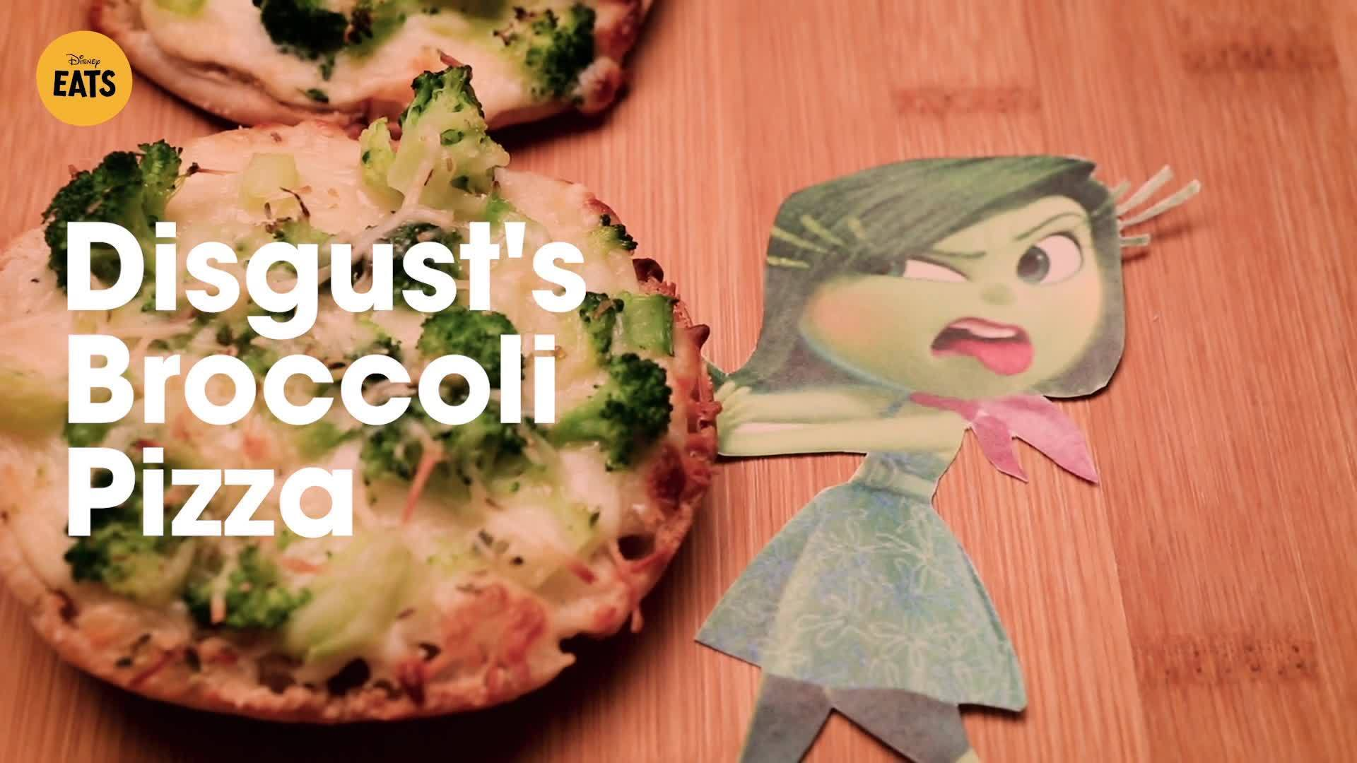 Inside Out's Disgust's Broccoli Pizza | Disney Eats