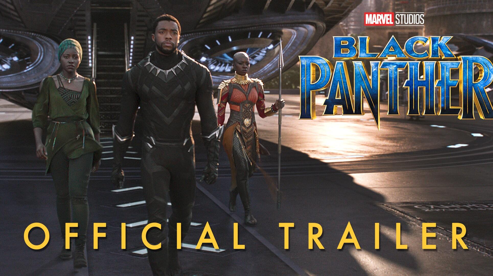 Marvel Studios Black Panther Official Trailer