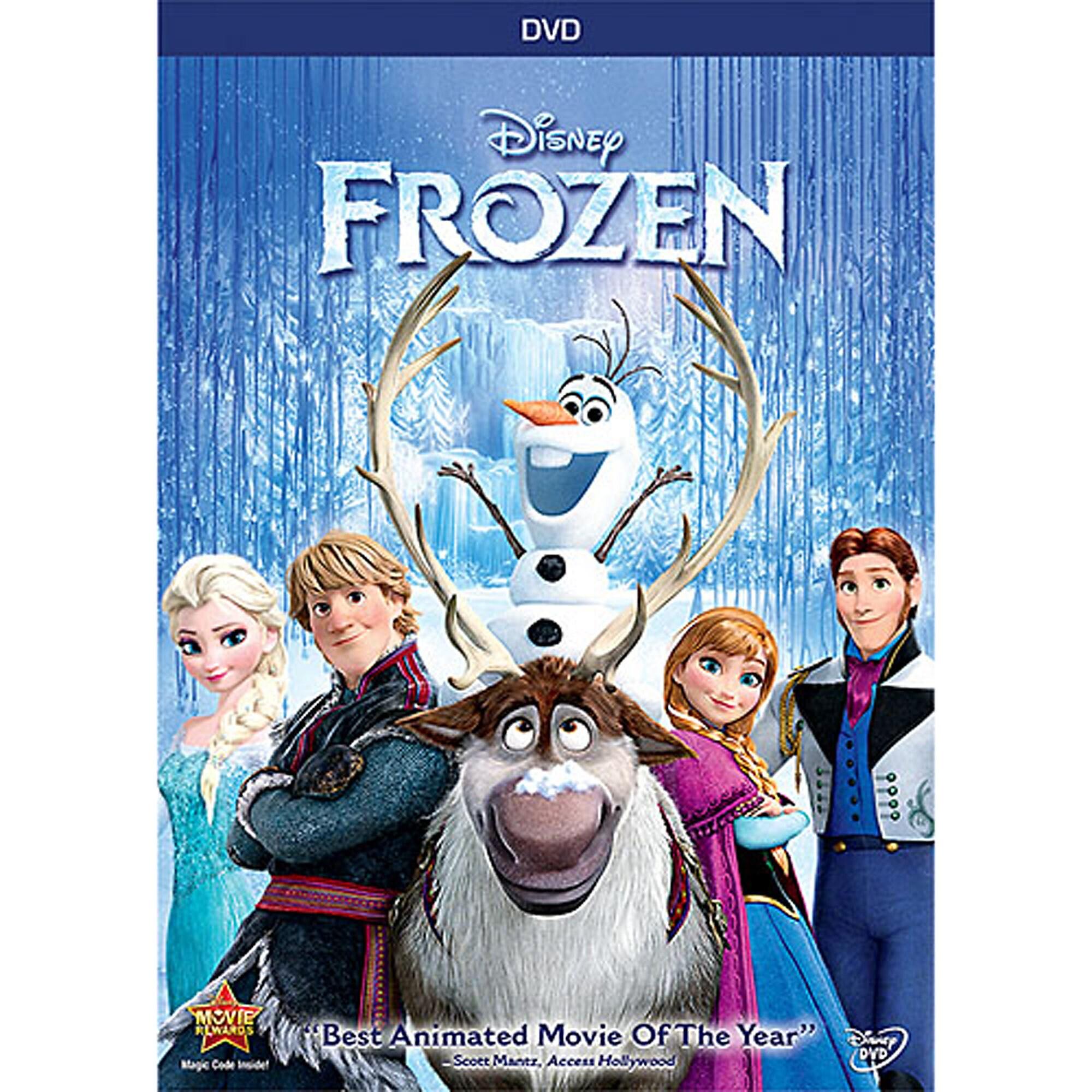 Frozen DVD