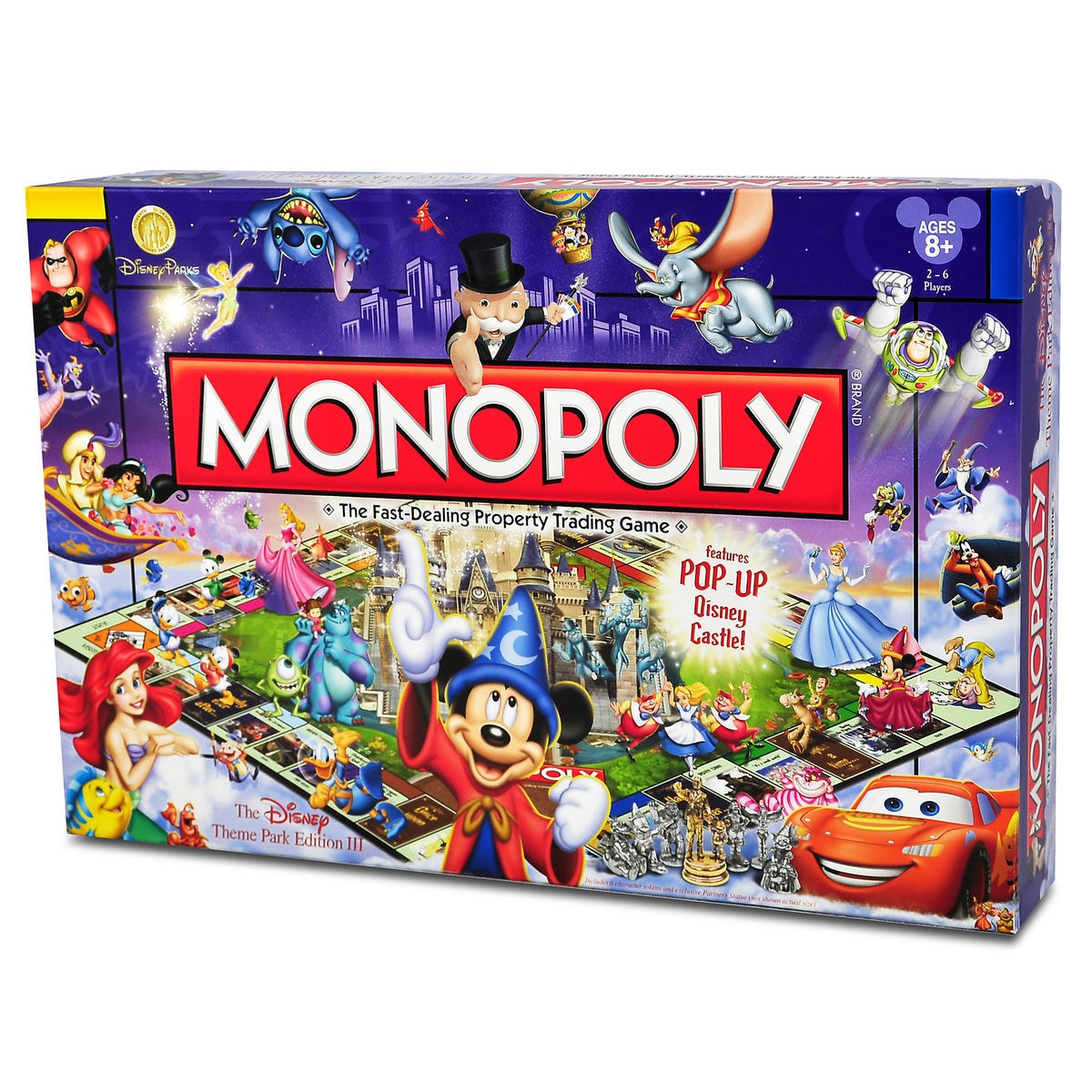 Product Image of Disney Theme Park Edition III Monopoly® Game # 2