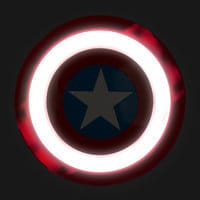 Image of Captain America Mask & Shield Set # 2