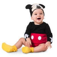 Image of Mickey Mouse Costume Bodysuit Set for Baby - Personalizable # 2