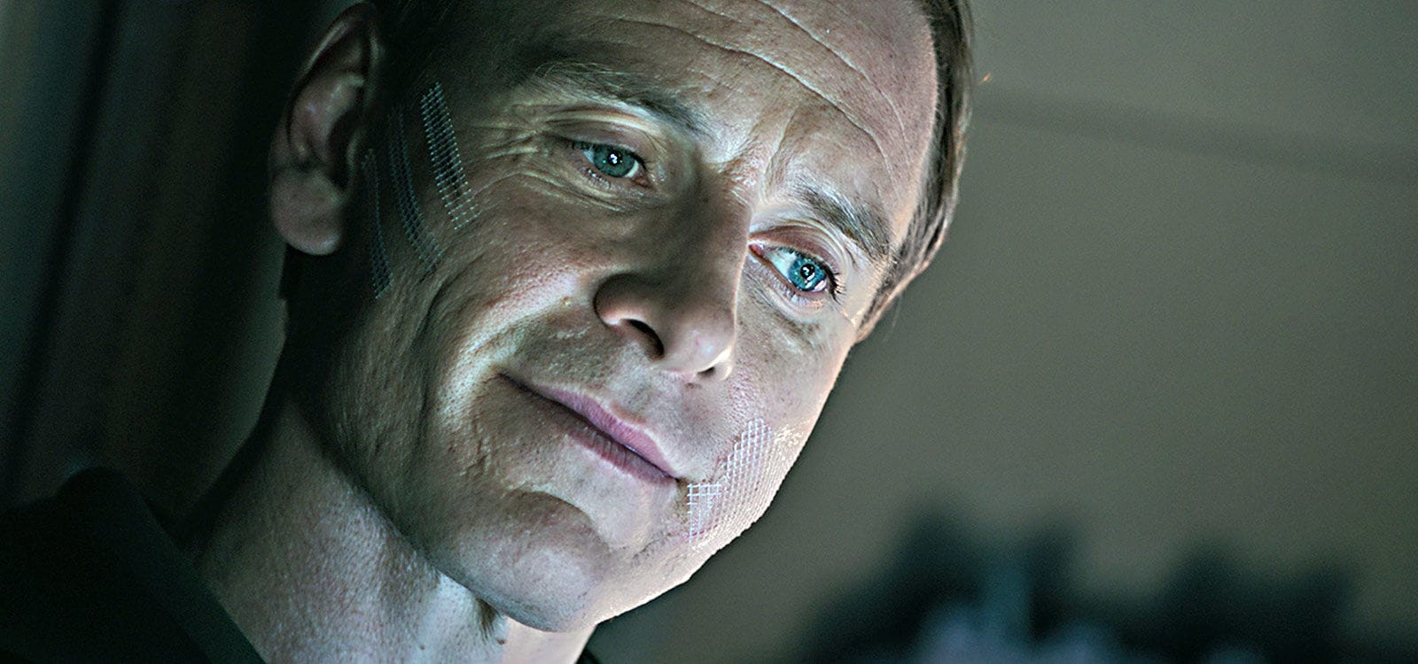 "Actor Michael Fassbender (as David) in the film ""Alien: Covenant"""