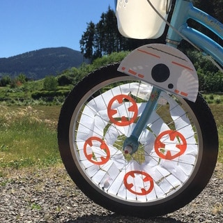 BB-8 Bicycle Wheel Decoration