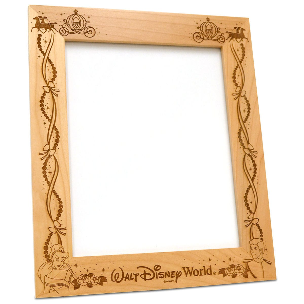 Prince Charming and Cinderella 8\'\' x 10\'\' Frame by Arribas ...