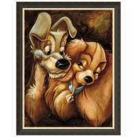 Image of ''Lady and the Tramp'' Giclée by Darren Wilson # 7