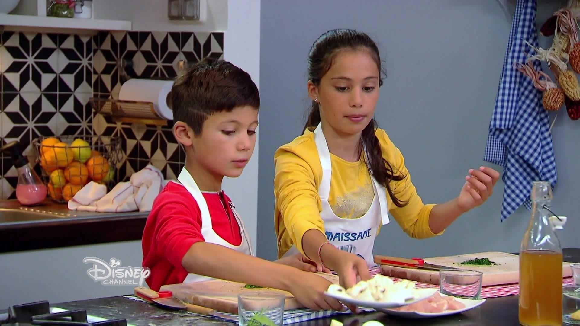 Le Vol-au-vent aux champignons de Rayan et Maissane - Chez Rémy tout le monde peut cuisiner - Partie 2