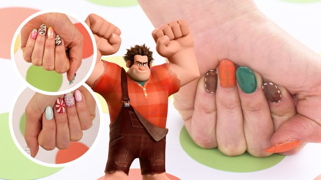 Wreck-It Ralph Nail Art, 3 Ways | TIPS by Disney Style