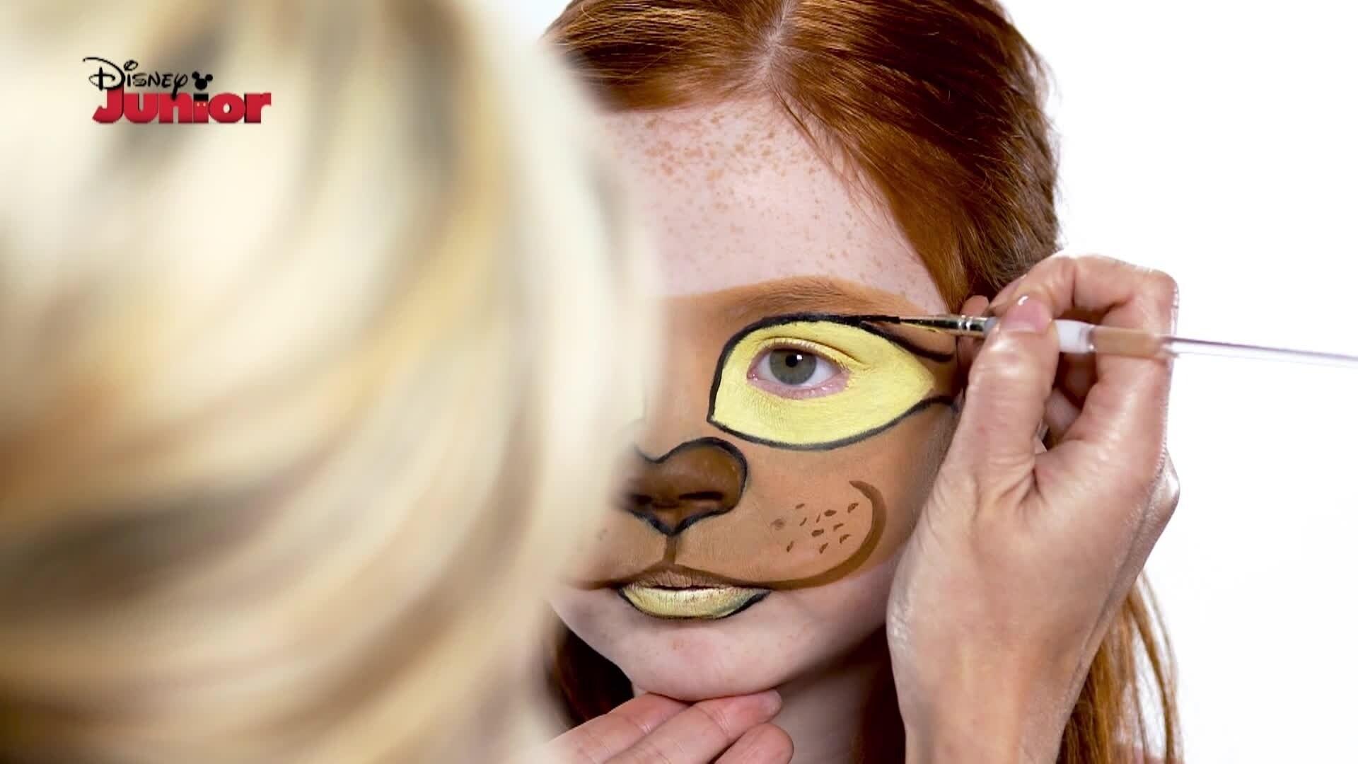 Pintura facial: Kiara