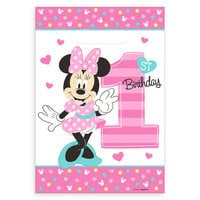 Minnie Mouse 1st Birthday Favor Bags