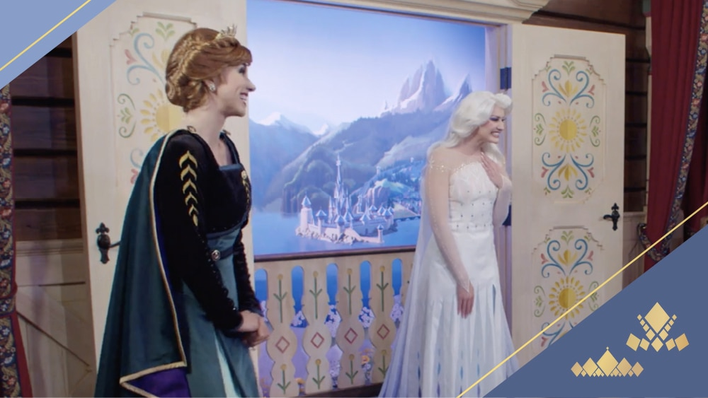 Let's Talk Families With Queens Anna & Elsa | The Courage & Kindness Club