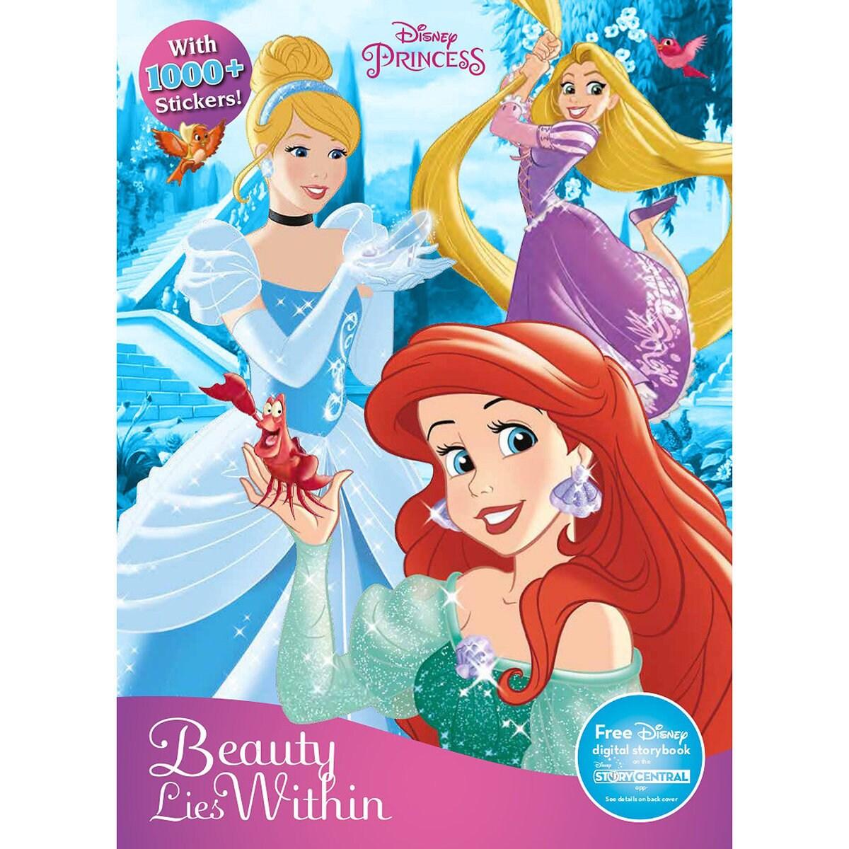 Disney Princess Sticker Treasury Book