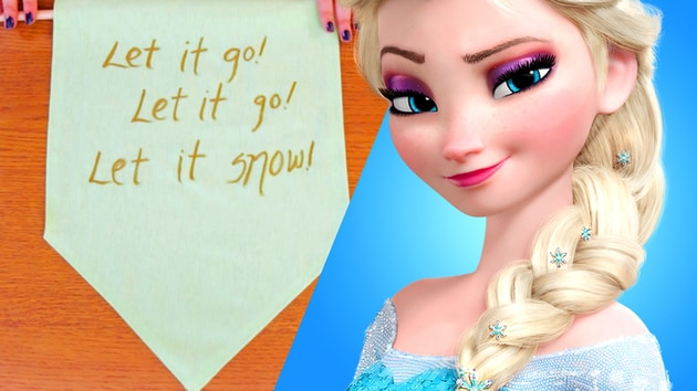 Be Our Guest: Frozen-Inspired Let It Go Pennant | Disney Style
