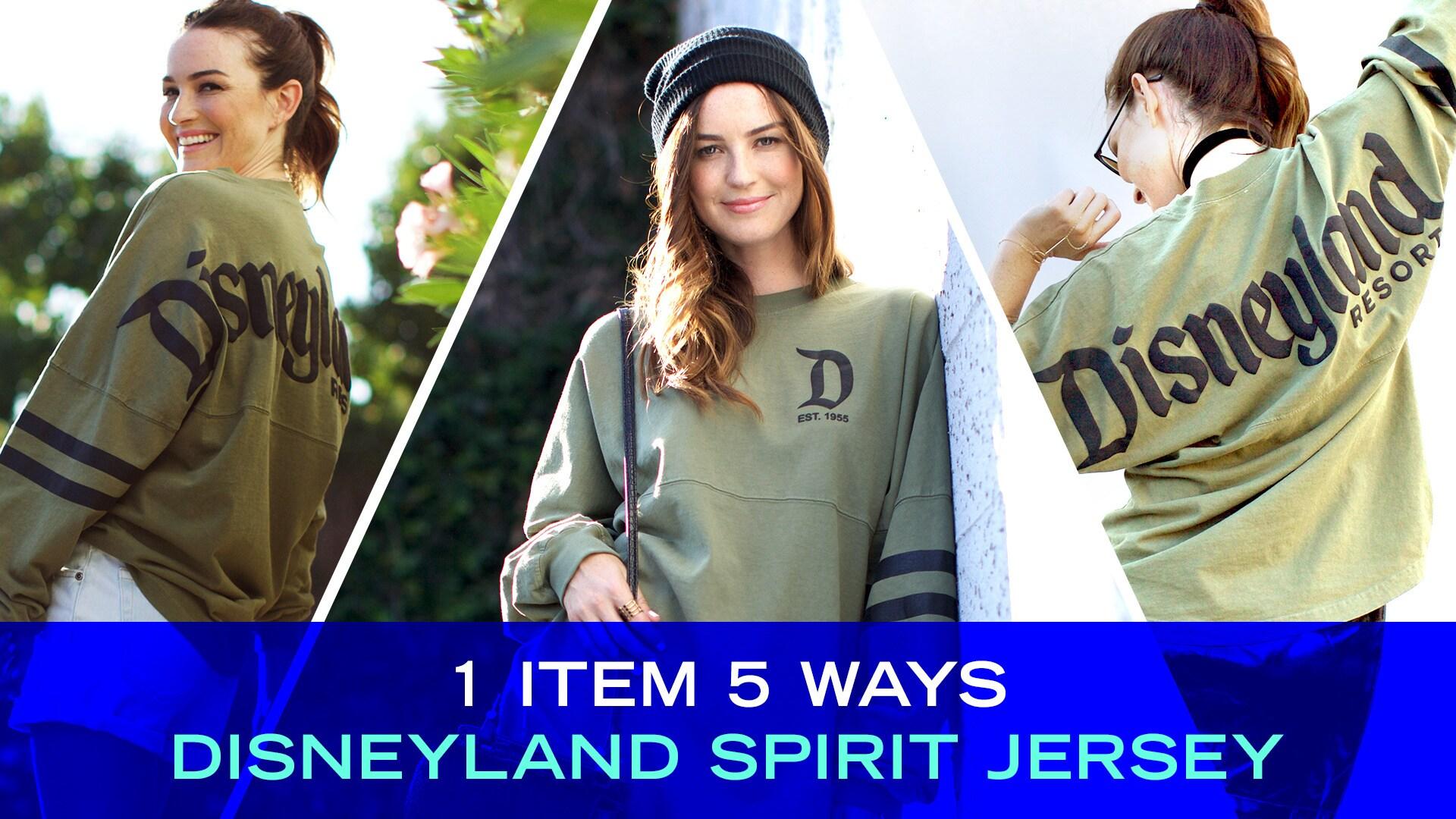 1 Item, 5 Ways: Disneyland Spirit Jersey | Disney Style