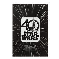 Star Wars 40th Anniversary Lithograph Set - Limited Edition