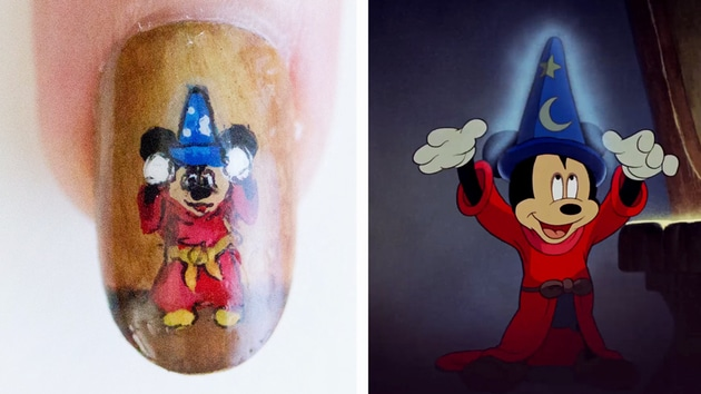 Sorcerer mickey nail art animation disney style disney video video thumbnail for sorcerer mickey nail art animation disney style prinsesfo Image collections