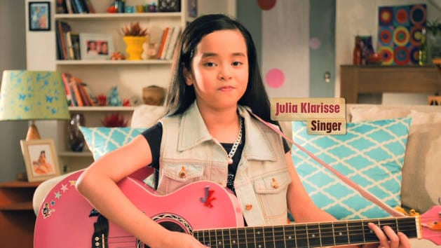 Backyard Heroes - Julia from Philippines singing a Phineas and Ferb song