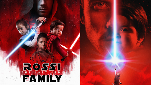 Dad Transforms His Family into 'Star Wars' Characters for a Truly Epic Holiday Card