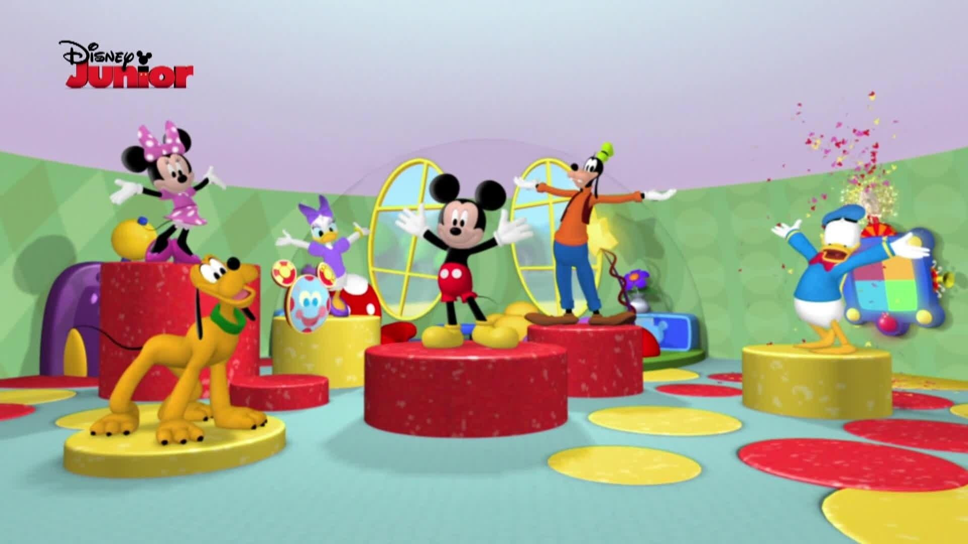La casa de mickey mouse disney junior espa a - La mickey danza ...