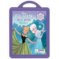 Image of Frozen Dress-Up Book and Magnetic Play Set # 1