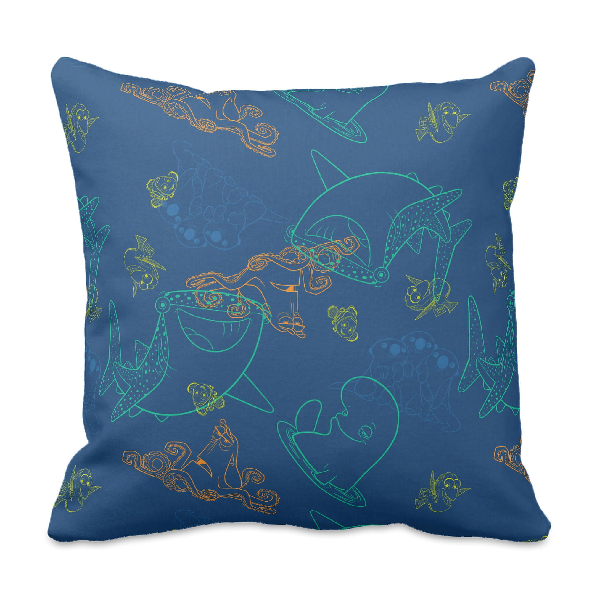 Finding Dory ''Sketch'' Pillow - Customizable
