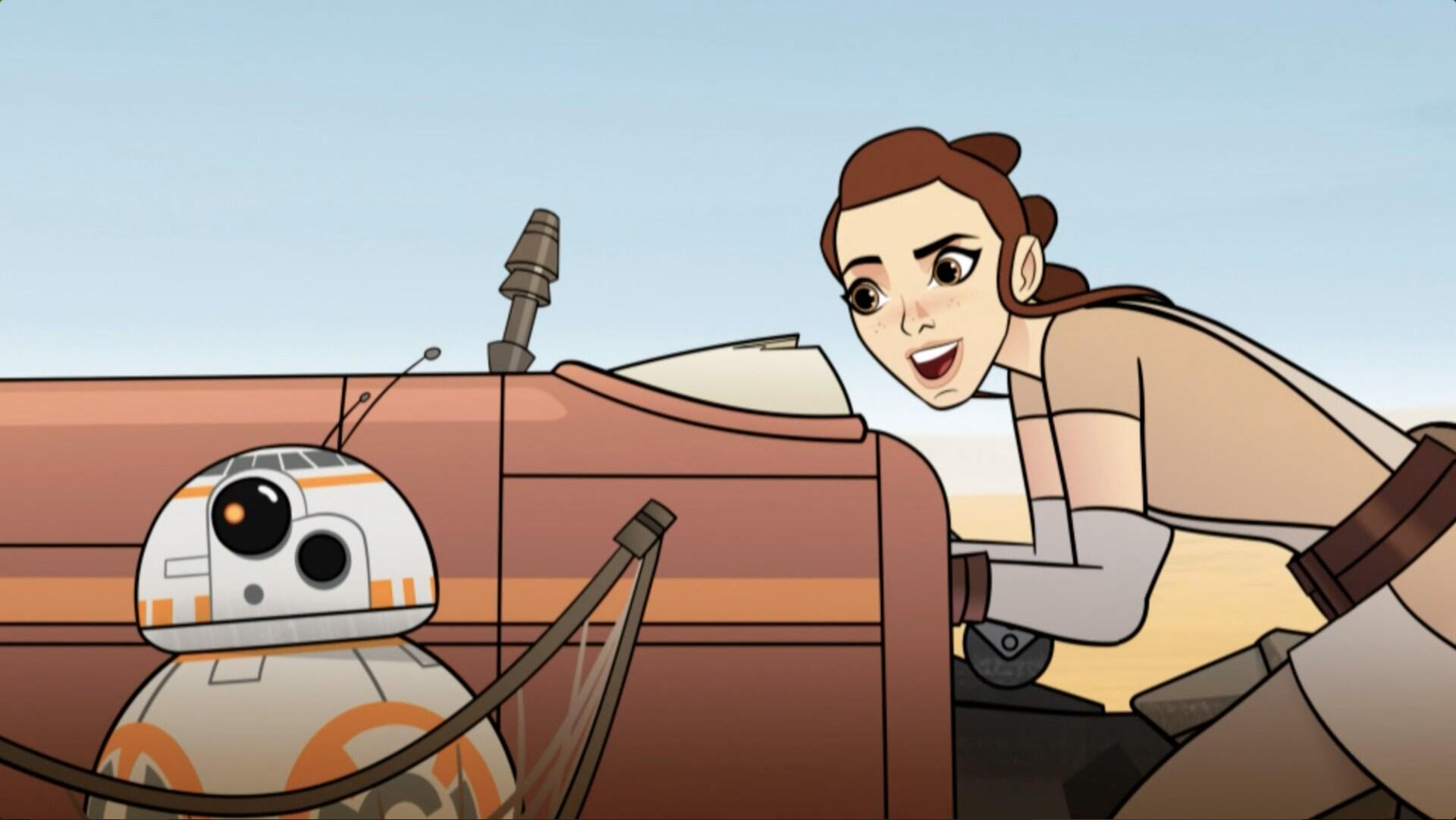 Star Wars: Forças do Destino - Ladrões de BB-8