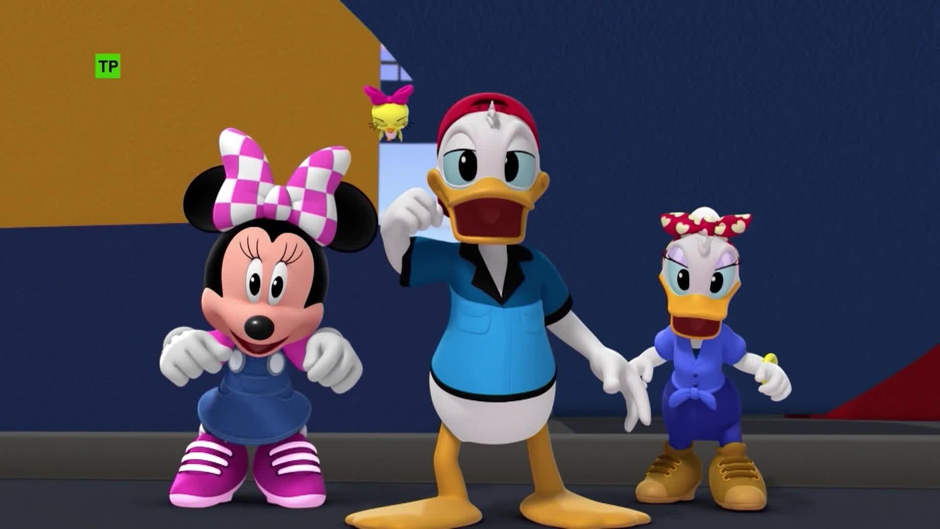 """Nuevas aventuras de """"Mickey y los superpilotos"""""""