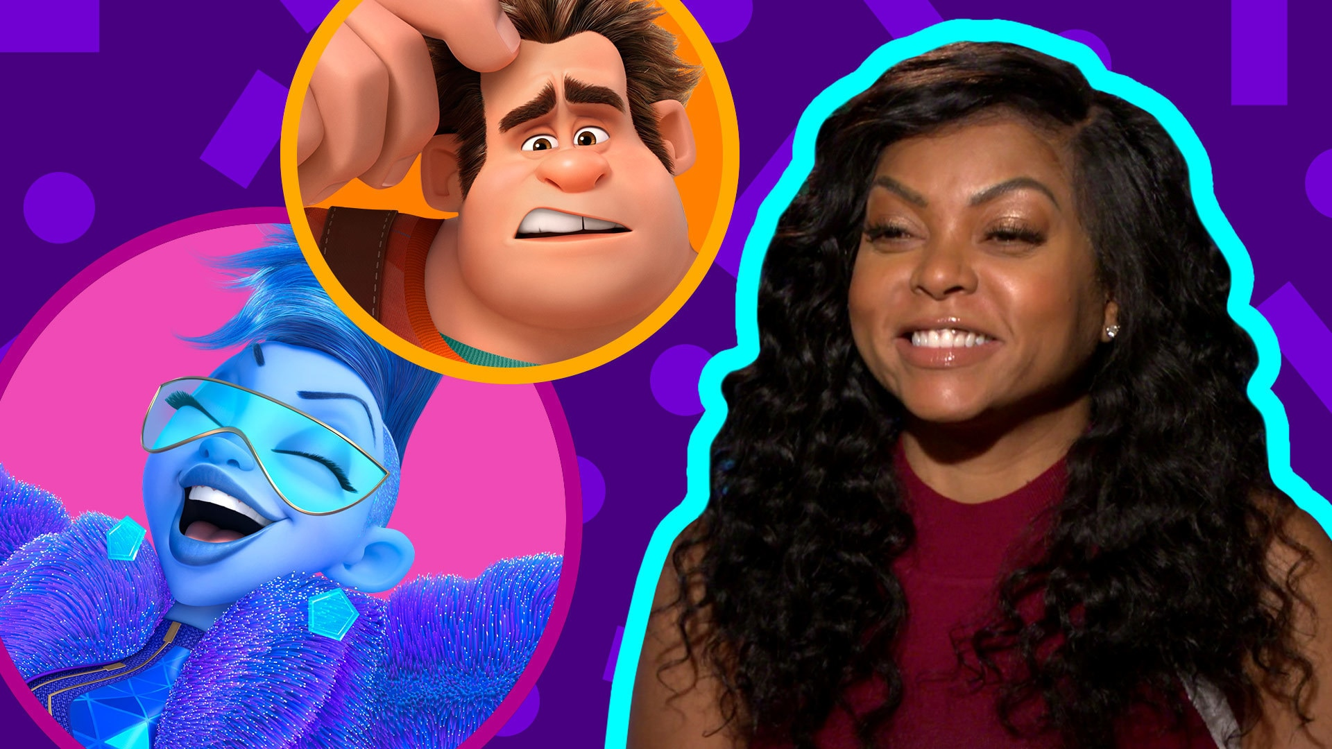 Taraji P. Henson Plays a Game of Yesss or Nooo | Oh My Disney