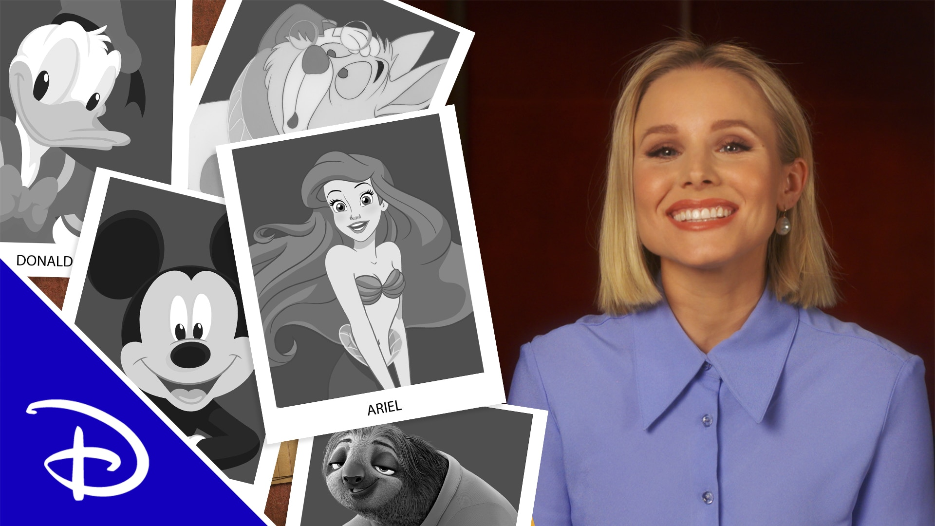 Kristen Bell Gives Disney Characters Acting Advice | Disney