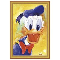 ''Donald Duck Quacks'' Giclée by Randy Noble