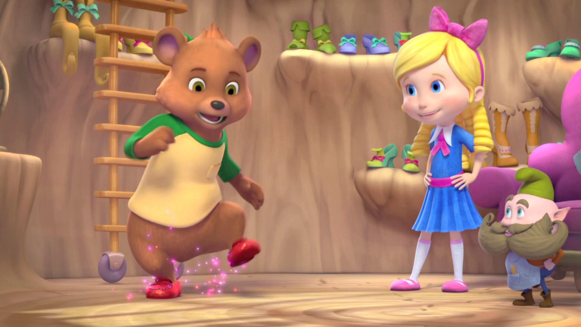 Magic Dancing Shoes | Goldie & Bear