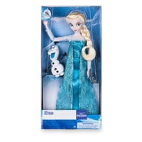Image of Elsa Classic Doll with Olaf Figure - 11 1/2'' # 2