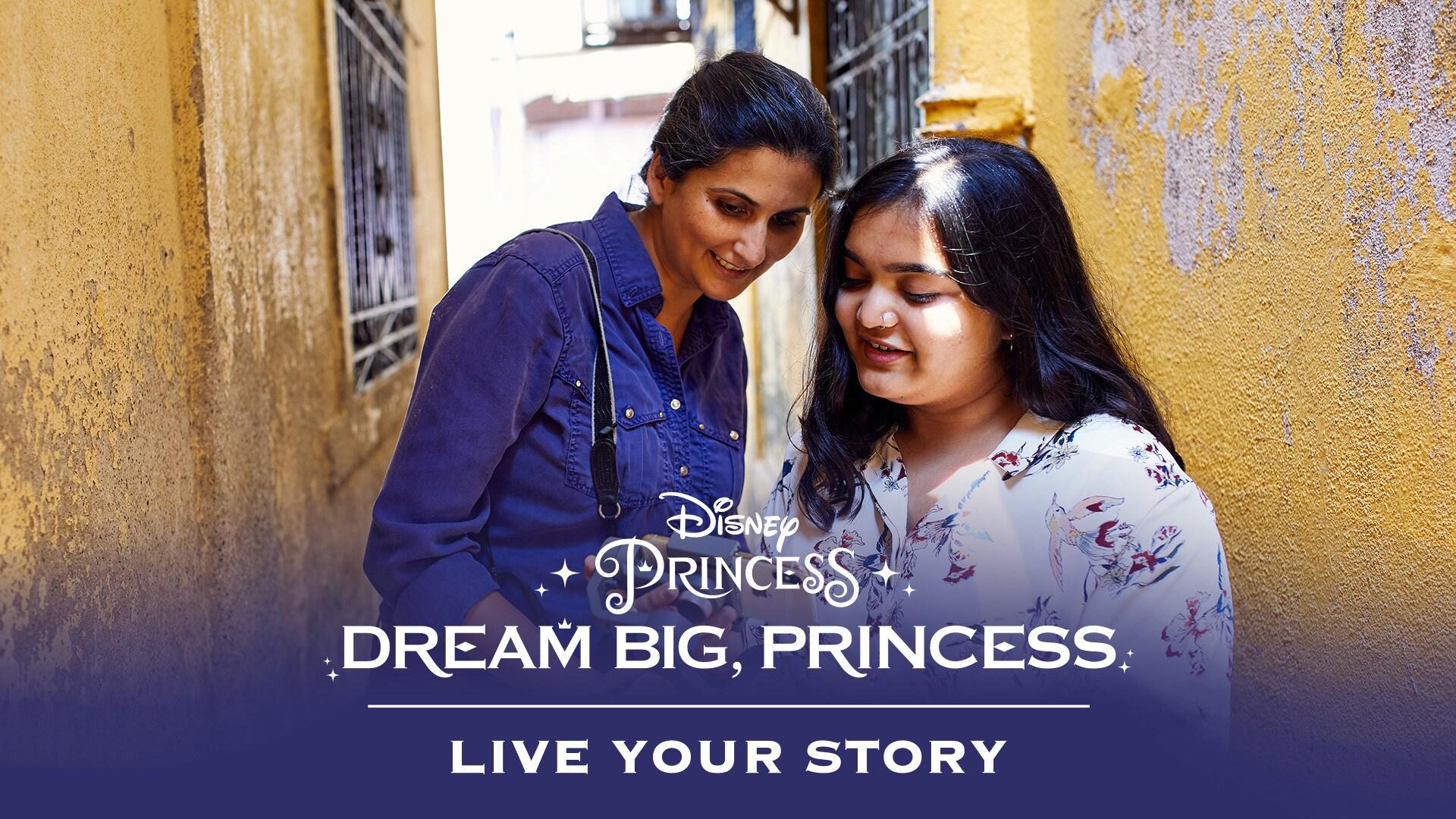Dream Big, Princess - Madhurima Meets Ashima Narain | Disney
