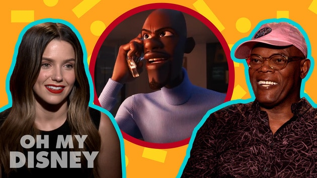Samuel L. Jackson and Sophia Bush From Incredibles 2 Give Us Some Solid Super Advice | Oh My Disney