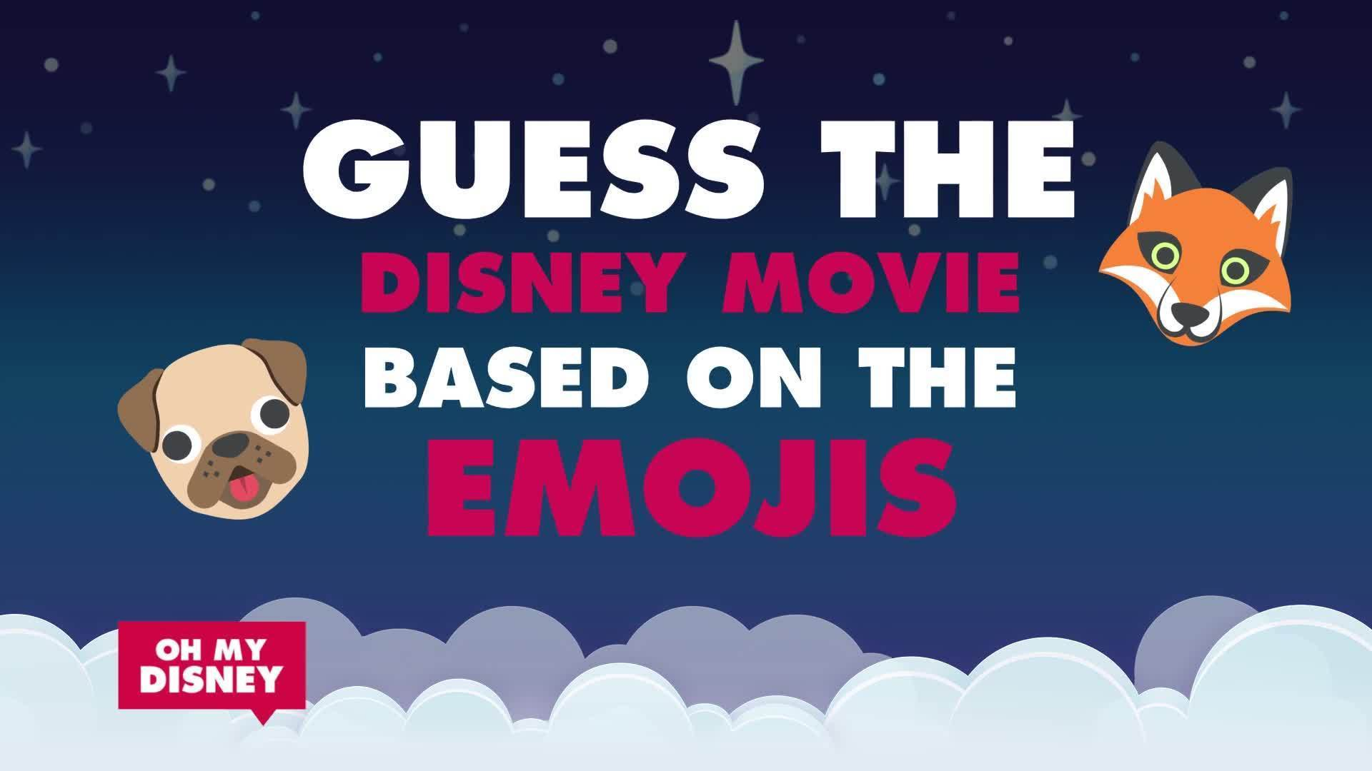 Disney Movie Emojis
