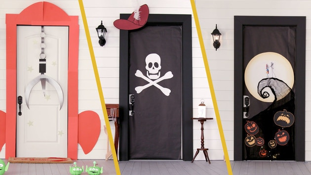 Disney Door Decor for Halloween | Disney DIY by Disney Family